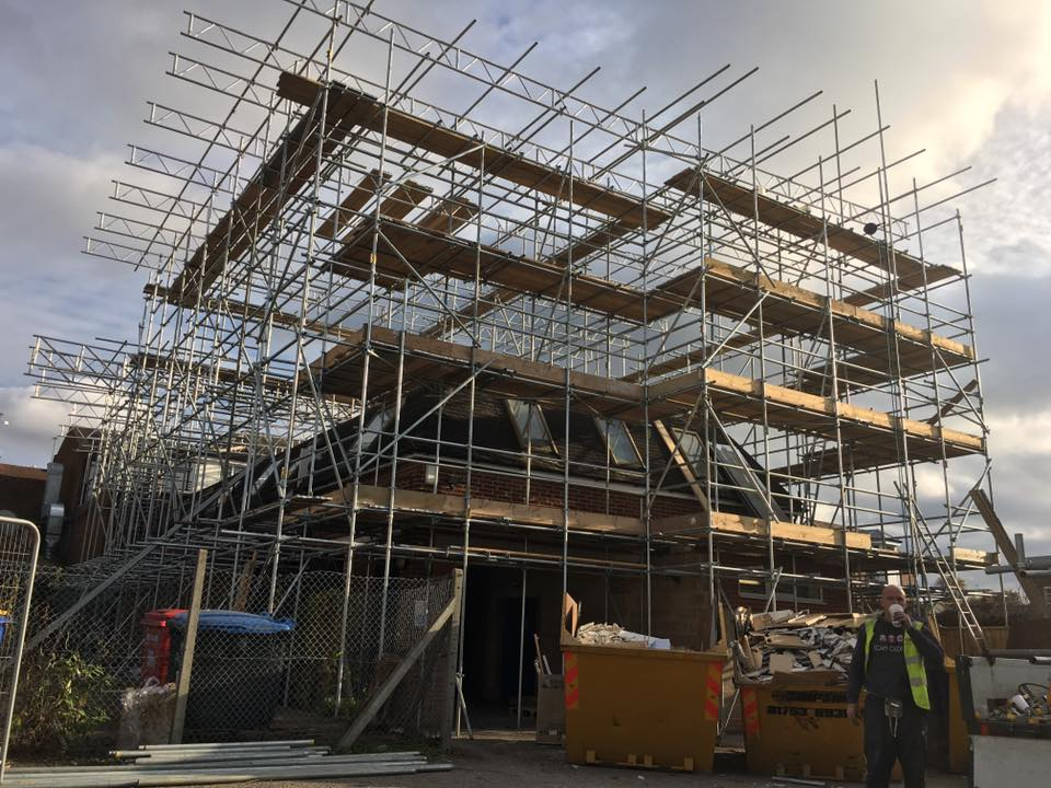 Scaffolders Uxbridge - ATC Scaffolding - Based in Uxbridge, London